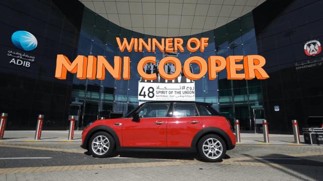 ADIB Mini Cooper Winner